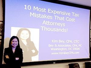 Kim Bey Tax Strategies Workshop
